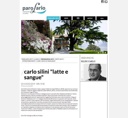 Parolario Carlo Silini
